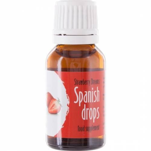 SPANISH FLY GOTAS DEL AMOR SUENOS DE FRESA